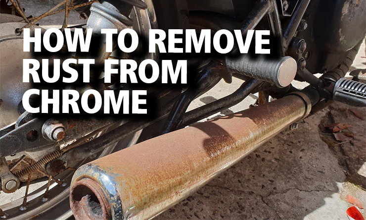 Bennetts motorcycle rust removal