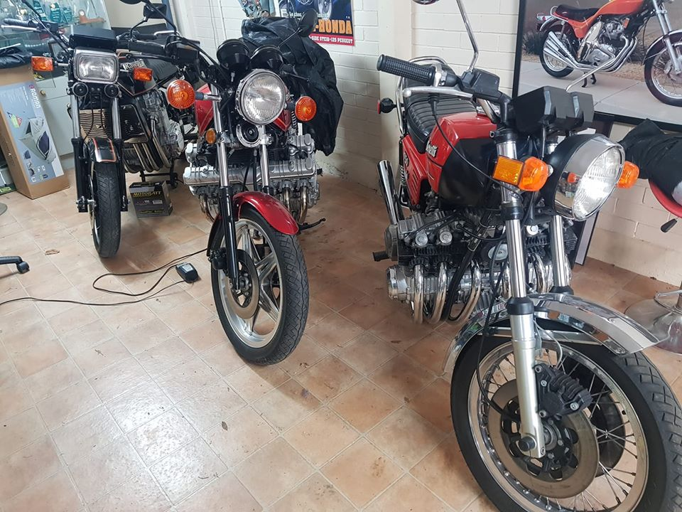 Six-cylinder motorcycles for sale