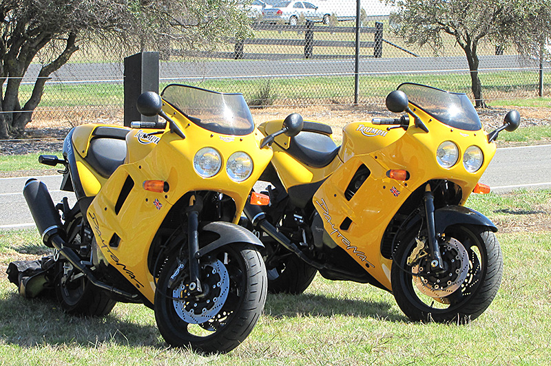 Triumph Daytona 1200 and Super III