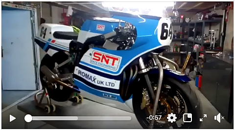 Suzuki XR69 SNT race engineering