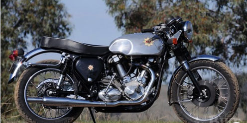 doug fraser BSA V-twin