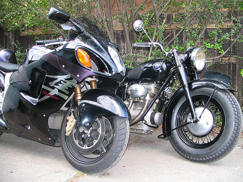 Hayabusa and Sunbeam s7