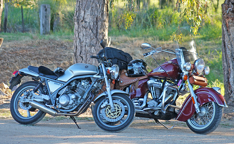 SRX600 Indian Chief Vintage Gilroy