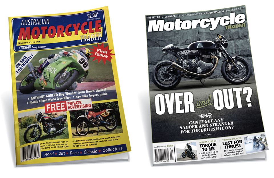 Motorcycle Trader mag first and last